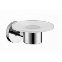 Hansgrohe Logis E/S Seifenschale aus Glas brushed nickel 40515820