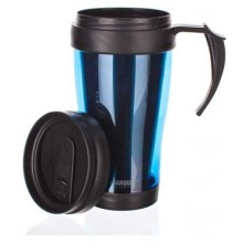 BANQUET Slim Blue Thermobecher 400 ml, 48TRPP01B