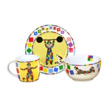 VETRO-PLUS Kindertafel Set Clown 3 St. 6018119