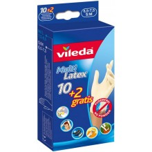 "VILEDA Handschuhe MultiLatex 10+2 ""M/L"" 145965"