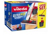 Vileda UltraMat Komplett Set inkl. UltraMat System mit Microfaser-Bezug, 132246