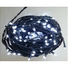 Weihnachtsbeleuchtung LED 100 - Weiß / 10LED blinkend VS481