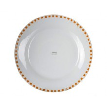 BANQUET Speiseteller 24 cm Cubito ORANGE 60112W112202
