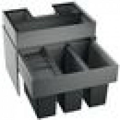 blanco select 60 3 orga abfalltrennsystem 518726. Black Bedroom Furniture Sets. Home Design Ideas