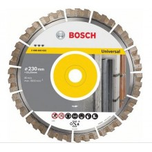 BOSCH Diamantscheibe Best for Universal 230x22, 33mm 2.608.603.633