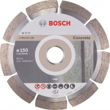 Accessories Diamanttrennscheibe Professional for Concrete, 150x22,23x2x10mm 2608602198