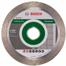 Bosch Diamanttrennscheibe Best for Ceramic, 125 x 22,23 x 1,8 x 10 mm