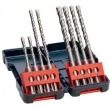 BOSCH SDS Plus-3 Set 8 teilig Betonbohrer inTough Box 2607019903