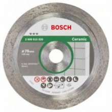 BOSCH Diamanttrennscheibe Best for Ceramic 76 x10 mm, 2608615020