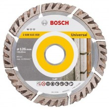 Bosch Accessories Diamanttrennscheibe Standard for Universal, 125 x 22,23 x 2 x 10 mm 2608