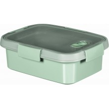 CURVER SMART TO GO 1L Lunchbox mit Besteck 20x15x7cm Mint 00946-Q19