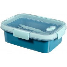 CURVER SMART TO GO 1L Lunchbox + Besteck 20x15x7cm blau 00946-Y33
