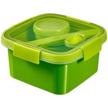 CURVER SMART TO GO 1,1L Lunch Box 16x16x9cm grün 00950-Y32