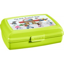 CURVER BACK TO SCHOOL 1,3L Sandwichbox, Lunchbox 19,5 x 14,3 x 6,5 cm 02274-B83