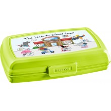 CURVER BACK TO SCHOOL 0,6L Sandwichbox, Lunchbox 17,5 x 11,6 x 4,3 cm 02275-B83