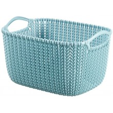 CURVER KNIT S Korb 8L misty blue 03674-X60