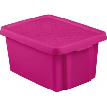 CURVER Essentials Mehrzweck - Stapel Box 16 L pink 00753-437