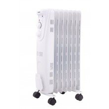 DOMO Ölradiator 45m3 1500W Weiß DO7318R