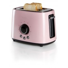 DOMO Toaster Pastell rose DO952T