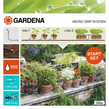 GARDENA Start Set Pflanztöpfe M automatic, 13002-20
