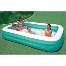INTEX Schwimm Center Family Pool 305 x 183 x 56 cm (grün) 58484