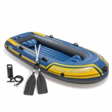 INTEX Schlauchboot Set Challenger 3 295 x 137 x 43 cm, blau 68370