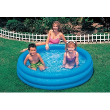 INTEX 3-Ring Crystal Blue 147 x 33 cm 58426NP