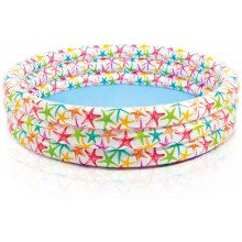 INTEX Kinderplanschbecken 3-Ring Pool Star Fish 168 x 38 cm 56440