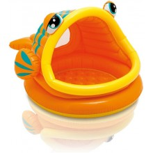 INTEX Lazy Fish Shade Baby Pool 157109NP
