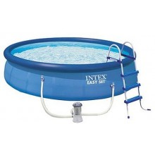INTEX Easy Set Pools 457 x 107 cm 28166GS+Kartuschenfilteranlage
