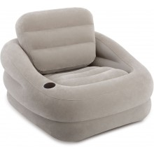 INTEX LOUNGESESSEL Aufblasbarer Accent grau 68587NP