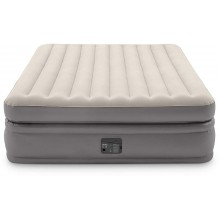 INTEX Queen Comfort Elevated AIRBED W/Fiber-TECH 64164NP