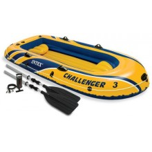 INTEX Challenger Schlauchboot 3 Set 68370NP