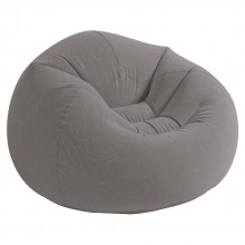 INTEX Aufblasmöbel Deluxe Beanless Bag Chair, Grau 68579NP
