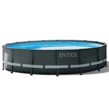 INTEX ULTRA XTR FRAME POOLS SET 4,88 m X 1,22 m mit Sandfilterpumpe 26326GN