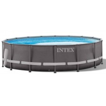 INTEX Ultra Frame Pool 6.1m x 1.22m mit Filteranlage 26334GN