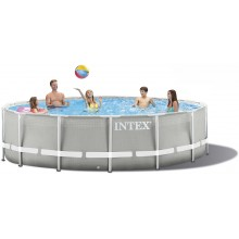 INTEX PRISM FRAME POOLS SET 4,27 M X 1,07 M mit Kartuschenfilteranlage 26720GN