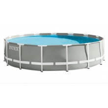 INTEX Prism Frame Pools 4.57m x 1.22m, mit Filteranlage 26726GN