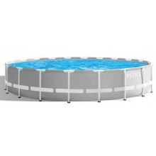 INTEX PRISM FRAME POOLS SET 6.10 m x 1.32 m mit Kartuschenfilteranlage 26720GN