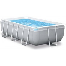 INTEX Prism Frame Rectangular Pools 3m x1.75m x 80cm, mit Filteranlage 26784GN