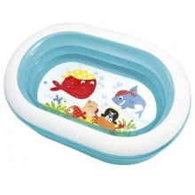 INTEX Kinderpool Oval Whale Fun 57482NP