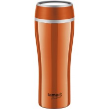 LAMART LT4026 Thermobecher 0,4 L orange FLAC 42001288