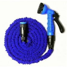 COBRA Wasserschlauch Flexi Magic Hose Wonder mit Sprühpistole - blau