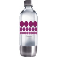 SodaStream Flasche 1l PURPLE METAL