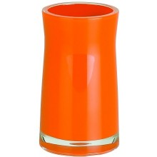 Spirella Sydney-Acryl Zahnbecher Orange 1013625