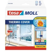 Tesamoll® Thermo cover Fenster-Isolierfolie 4 m x 1,5 m 05432
