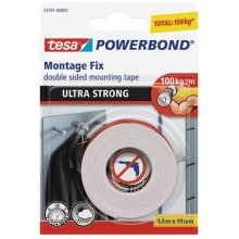 TESA Powerbond® ULTRA STRONG Montageband 1,5m x 19mm 55791