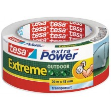 TESA extra Power® Extreme Outdoor Folienband transparent 56395
