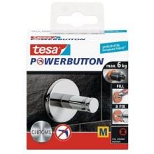TESA Powerbutton Universal Medium Haken 59321