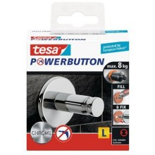 TESA Powerbutton Universal Large Haken 59322